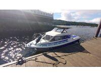 1990 Fletcher Vigo Boat cruiser with 2006 50HP 4 stroke outboard