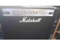 Marshall mg101fx carbon fiber series 100w amp, paid £330, as new condition