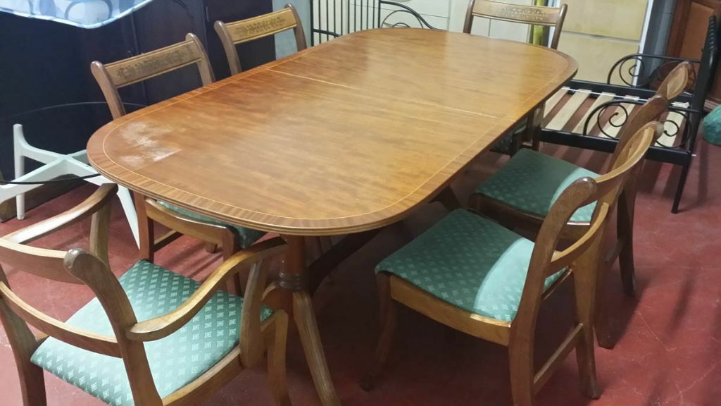 Dining Table 6 Chairs Expendable In Cardiff Bay Cardiff Gumtree