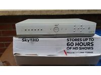 SKY + HD BOX 80GB PERFECT WORKING ORDER Ideal spare for caravan, holiday home etc