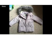 Girls Next jacket aged 5 years