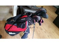 Wilson golf clubs right hand