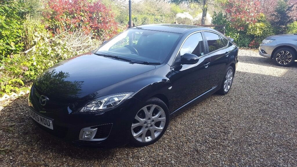 mazda 6 sport 2009 77k black 2 2 diesel 185bhp. Black Bedroom Furniture Sets. Home Design Ideas