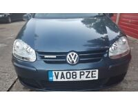 Vw golf mk5 for sale.