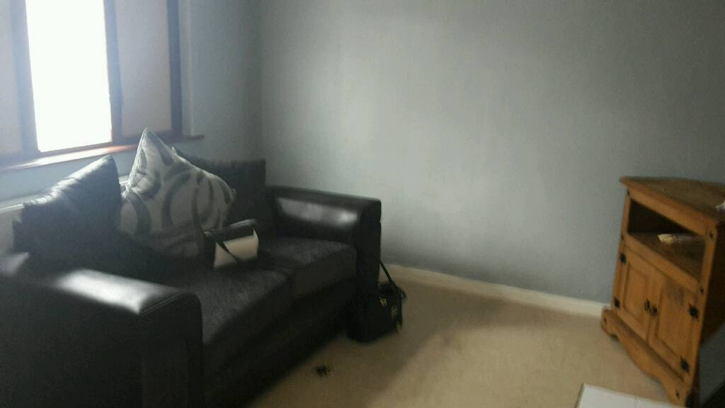 Sell or swap for a small corner sofa black leather or grey and back