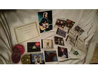 Joblot of rock cds pink floyd beatles neil young autograph with coa