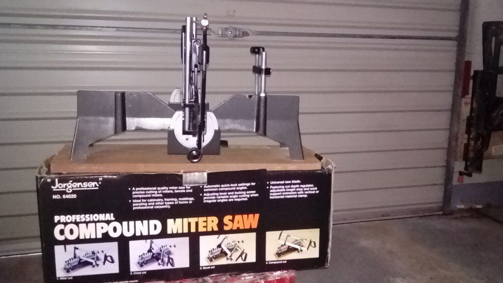 Jorgensen Compound Mitre Saw Professional Quality Very Little Use