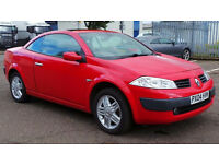 2004 04 RENAULT MEGANE PRIVILEGE 1.6 VVT 115 MOT 08/17 (CHEAP PART EX TO CLEAR)
