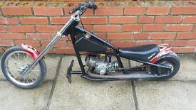 mini moto Petrol Chopper Razor