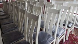 Banqueting chairs. Perfect for a wedding venue.