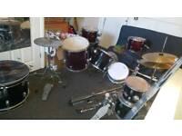 2 full size drum kits
