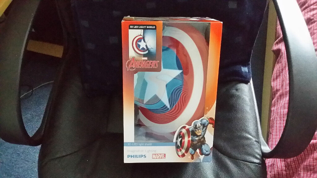 Avengers 3D Led Light Shield