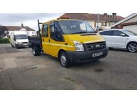 Ford transit 100T350 brilliant tipper truck