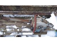 Vintage danarm chainsaw barn find