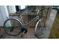 Hybrid Ladies Bike 18 (L size) in optimal condition