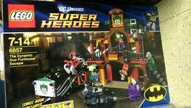 Lego DC super heroes 6857 rare