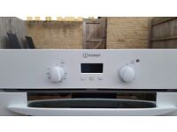 Indesit Electric fan assisted oven & grill. Like new.