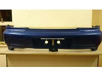 Subaru impreza wrx sti bugeye saloon BLUE rear bumper REF: A13