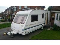 2001 Sterling Europa with awning and extras