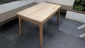 Solid Oak Dining Table Habitat