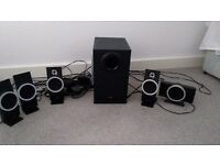 Creative set of 5 speakers and sub