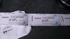 Red hot chili peppers seated tickets less than face value