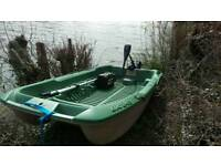 Big 245 sportyak boat dinghy fishing rowing
