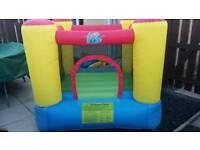 Air flow bouncy castle