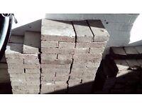 309 full Reclaimed blue bricks
