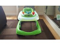Chicco Band Baby Walker - Green Wave