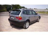 BMW X3 2.0d MANUAL LEFT HAND DRIVE FULL SERVICE HISTORY