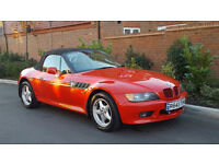 Bmw Z3 Roadster Convertible (1997/R Reg) + 142K + FSH + (Fully Stamped up Book) + Needs TLC/WORK +