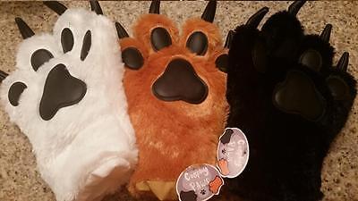 Cosplay Paws: Brown, Black    FNAF Anime Pokemon Ginga Furry (Cosplay Paws)