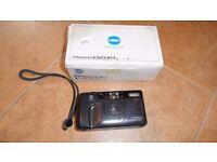 Brand new unused (still boxed) Minolta film camera,+ Tripod + Gadget bag all new £25