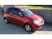 Toyota yaris 1.3SR colour collection