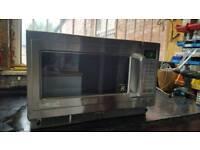 Panasonic commercial combi microwave