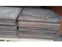 Used Concrete Council Concrete Paving Slabs. Good condition.