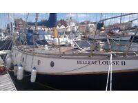 """Laingmaid 34'7""""sailing boat"""
