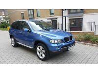 2005 Bmw X5 3.0d Auto Sport Individual Estroil Blue Metallic