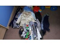 boys clothes bundle 1-2 years