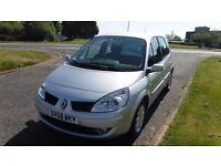 Renault Scenic Dynamique,1.6,2008,Alloys,Air Con,Cruise Control,Parking Sensors,Service History