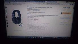 Turtle Beach Ear Force XO SEVEN Pro Black Headband Headsets for Microsoft...