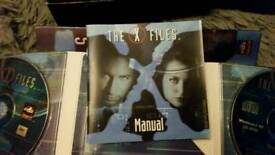X Files Unrestricted Access CD Rom set