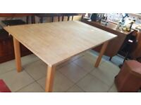 Large Extendable Dining Table / Work Table