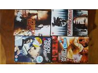 Prison Break, series 1-4 on dvd