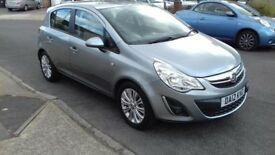 Vauxhall Corsa SE, 1.4, Petrol Manual. 2012 Five Door, Cat C. 52000 Miles.
