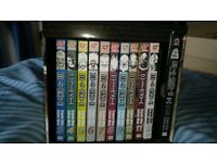 Manga books- Vampire nights, Death Note and how to draw Manga