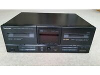 Technics Double Cassette Player