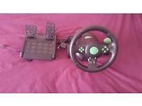 Gaming steering wheel