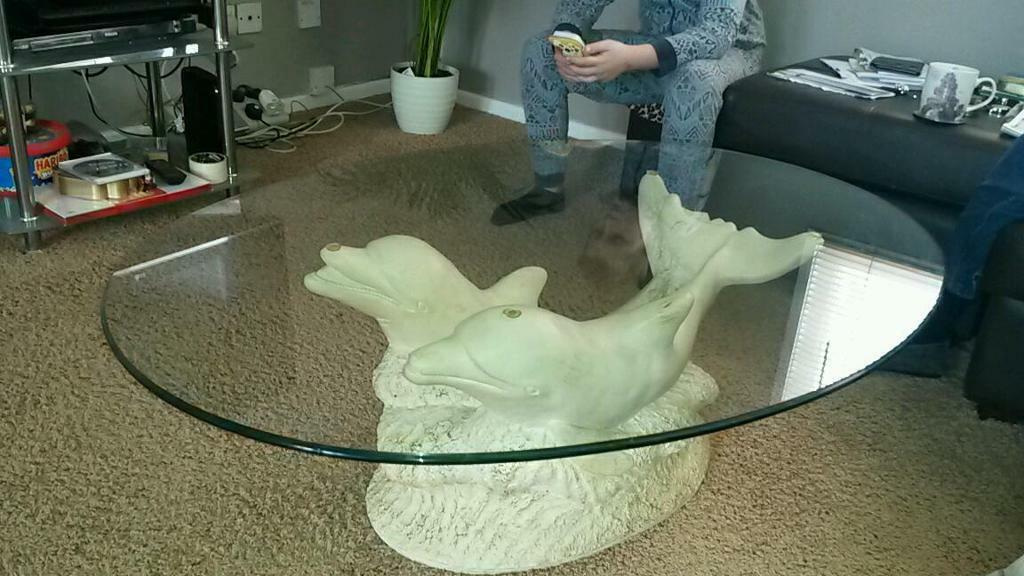 Dolphin Coffee Table In Bedford Bedfordshire Gumtree